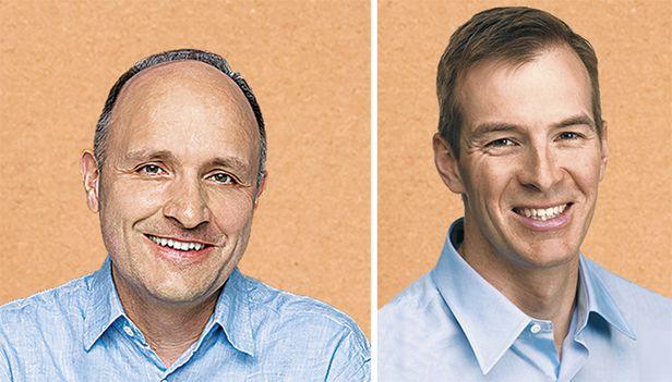 아마존 기술 부사장이었던 콜린 브라이어(왼쪽)와 디지털미디어 부사장이었던 빌 카(오른쪽). 각각 1998년과 1999년 아마존에 입사해 2010년, 2014년에 퇴사했다. 지난해 '워킹 백워즈(Working Backwards)'란 기업 컨설팅 회사를 함께 차리고 아마존의 일하는 방식에 대한 '순서 파괴'라는 책을 펴냈다.
