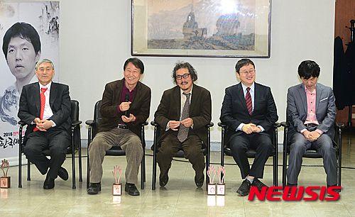 한 자리에 모인 한국 바둑의 전설