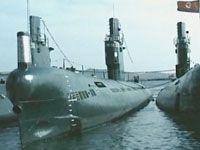 北 잠수함기지 이례적 공개
