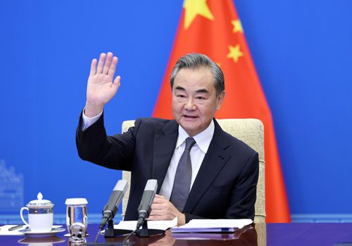 14일 한국을 찾는 왕이 중국외교부장./중국 외교부 홈페이지