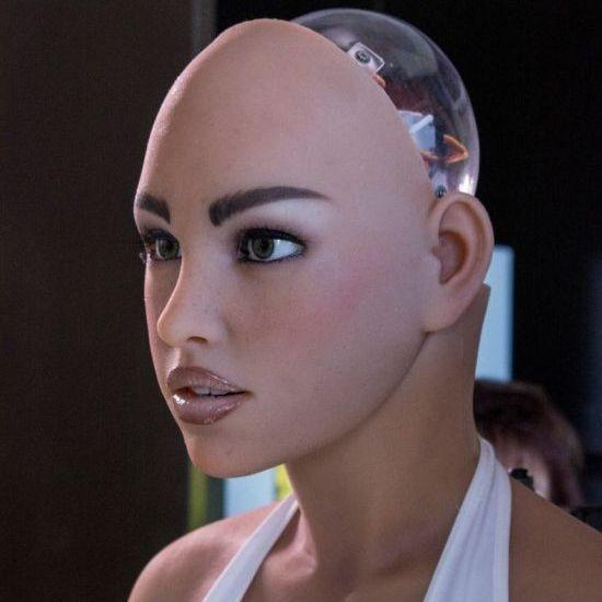 미국 어비스 크리에이션스의 섹스 로봇 '하모니(Harmony)'. /조선일보DB