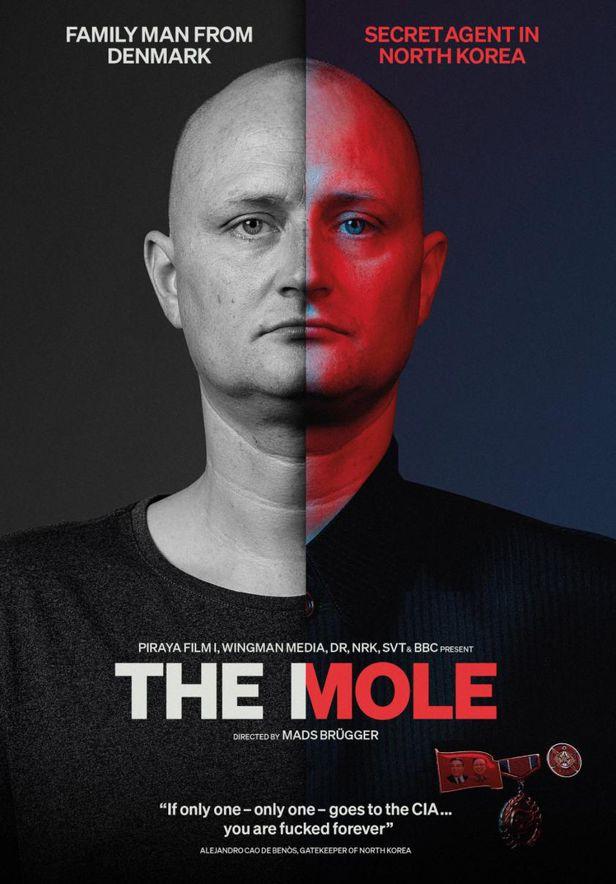 영화 '첩자(The Mole)'의 포스터. /매즈 브루거 제공