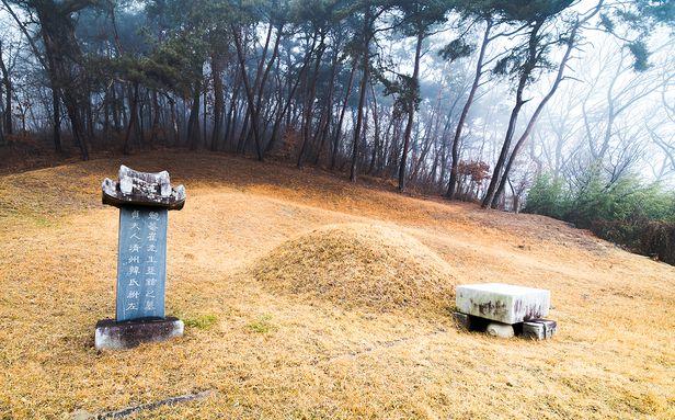 충남 예산 광시면에 있는 면암 최익현 묘소. /박종인